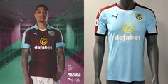Camisas do Burnley FC 2016-2017 Puma