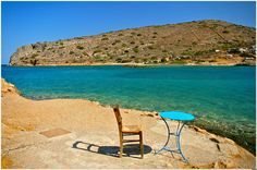 This photo from Lasithi, Crete is titled 'Spinalonga'. Outdoor Furniture, Outdoor Decor, Sun Lounger, Beaches, Cities, Greece, Europe, Summer, Travel