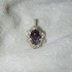 Silver pendant with amethyst gemstone! #jewelry #jewellery #handmade #handmadependant #ooak #wireweave #wirewrap #wirewrapped #wirewrapped #wirewrappedjewelry #wirewrappedpendant #silverjewelry #pendant #wirejewelry #amethyst #gemstone #gemstonependant #gemstonejewelry #jewelrymaker #jewelrygram #instajewelry #jewelryofig #handcrafted #etsyseller #etsyshop #etsystore #etsyjewelry #etsyhandmade