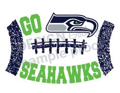 Seattle Seahawks printable image DIY Instant by designgallery, $3.00