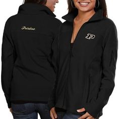 Purdue Boilermakers Columbia Women's Give & Go Full-Zip Jacket – Black