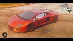 GTA 5 Lamborghini Aventador 1080 P