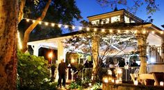 CJ's Off the Square in Franklin specializes in garden weddings & rehearsal dinners at their event pavilion & garden.
