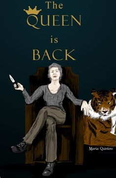 KEEP CALM, because the Queen is back Carol Peletier The Walking Dead