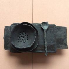 I want it all by Christine Roland Ceramic Spoons, Ceramic Tableware, Ceramic Clay, Ceramic Pottery, Pottery Art, Wabi Sabi, House Doctor, Vase Design, Deco Boheme