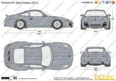 Porsche 911 Sport Classic 997 2012