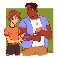 Pidge and Hunk are bffs!!