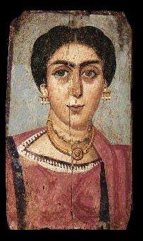 al Fayoum mummy portrait