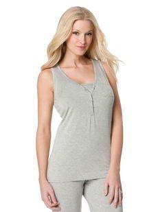 A Pea in the Pod: Sleeveless V-neck Rib Knit Maternity Sleep Top A Pea in the Pod. $29.50