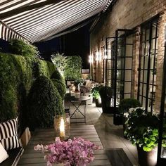 Enjoy our suggestions of Terrace Garden Ideas below. Terrace garden design ideas and tips, simple terrace garden ideas and terrace garden design. Outdoor Rooms, Outdoor Gardens, Outdoor Living, Outdoor Decor, Design Jardin, Terrace Design, Terrace Garden, Balcony Deck, Rooftop Terrace