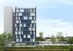 1º Lugar no Concurso para Unidades Habitacionais Coletivas de Samambaia CODHAB-DF  , Cortesia de MCA Arquitetura e Design