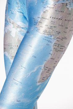 BM Maps leggings!