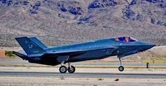 https://flic.kr/p/N9tPcD   F-35A Lightning-II 12-5054/LF   61st Fighter-Squadron USAF. Luke AFB, Arizona. Las Vegas - Nellis AFB (LSV / KLSV) Aviation Nation 2016 Air Show USA - Nevada, November 12, 2016 Photo: TDelCoro