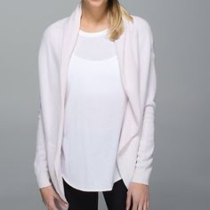 Lulu lemon Cabin Yogi Wrap New with tags a cream color lululemon athletica Sweaters