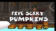 Five Scary Pumpkins | Nursery Rhymes for Kids | Baby Songs | Children So...