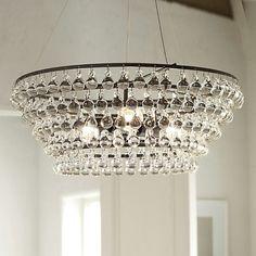 Robert Abbey Bling Chandelier Knock Off - Best Home Design Ideas . Luxury Chandelier, Bronze Chandelier, Beaded Chandelier, Glass Chandelier, Unique Chandelier, Ochre Lighting, Pendant Lighting, Pendant Lamps, Lights Fantastic