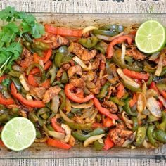 Easy Oven Fajitas practically cook themselves with no need to slave over a hot griddle. BudgetBytes.com
