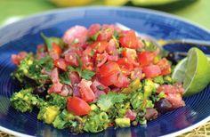 Fish with creamy avocado tartar | Healthy seafood recipes | Nourish magazine Australia