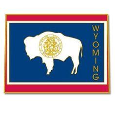 Wyoming Pin . $3.95