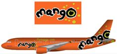 Mango Airlines livery How to Book a Mango flight online. 6 Easy steps ho to do it. Mango Airlines, Brand Icon, Airline Flights, Airplanes, South Africa, Travelling, Transportation, Aircraft, Profile