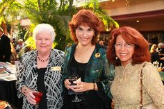 Kim Shinetal, Alice Cotman & Betty Greenspan at the One World Gala Reception on March 28, 2012