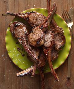 Guiness-Glazed Lamb Chops.