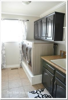 laundry room remodel - hope thats a drawer underneath
