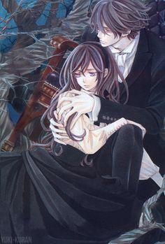 Vampire knight · Yuki and kaname ·