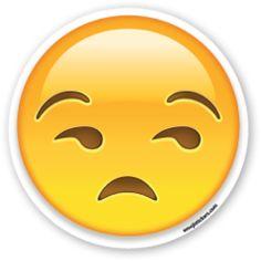 Unamused Face | Emoji Stickers