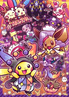 I was there when these came to the Pokémon Center in Yokohama!!!