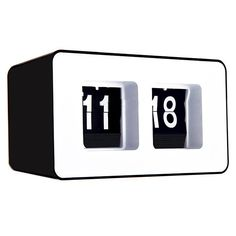 Flip Clock - If you're a child of the 70s, you'll remember having an alarm clock like this one. As the minutes and hours tick by, the pages flip over. Sit and stare at the clock, waiting for the pages to flip, and remember the good old days. This clock will take you back in time.