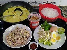 Kumpulan Resep Asli Indonesia - Laksa Bogor Laksa, Bogor, Rice, Laughter, Brass
