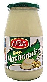 the only mayonnaise for me. my creamy soulmate. WE'LL BE TOGETHER AGAIN ONE DAY BABY!! - crosse + blackwell tangy mayo