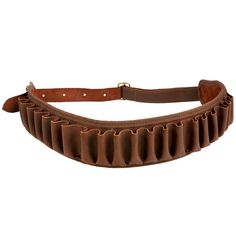 19,95€ - CHASSE Chasse - CARTOUCHIERE CUIR CALIBRE 12 - JANUEL