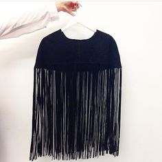 Need a fringe cape? Here it is <3 http://www.asos.com/ASOS/ASOS-Suede-Cape-With-Extra-Long-Fringing/Prod/pgeproduct.aspx?iid=4946058&affid=13875&channelref=social+campaigns