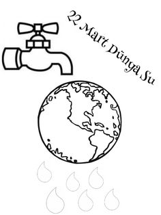 School Clipart, Earth Day, Art School, Diy And Crafts, Clip Art, Teaching, Education, Children, Water