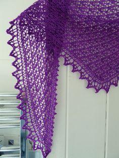 Arietta shawl