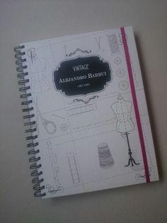 Cuaderno con hojas de dibujo de 120g  Tamaño: 28 x 20 cm bynf.