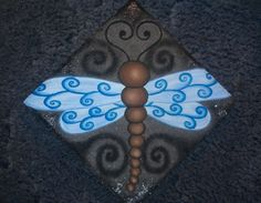 #2 painted step stone done by me..