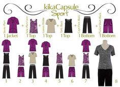 These 6 pieces mix-and-match to create 12 outfitsFor more information on KikaPaprika clothing contact amydaguanno@kikapaprika.com