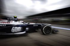 Williams have started celebrating their 600th GP. But their performance is still lacking. Image courtesy Williams F1 Team (for editorial use only)