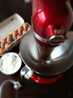 Mixer with Ingredients