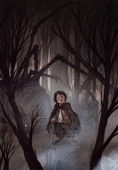 Cory Godbey's simple yet heroic Bilbo.