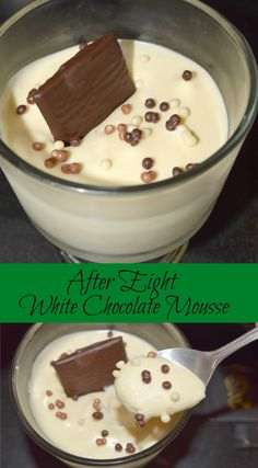 After Eight White Chocolate Mousse #dessert