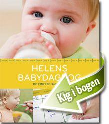 Helen Lyng Hansen: Helens babydagbog  Ud over at være en praktisk og lækker kalender, hvor du kan skrive alt det, som er vigtigt at huske i løbet af din babys første leveår, er den smækfyldt med konkret information og gode idéer, som du kan bruge som nybagt forælder.