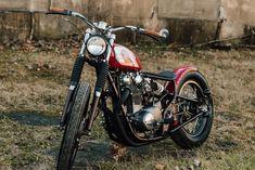 Yamaha XS650 Bobber Vintage Motorcycle by Steve Simqu