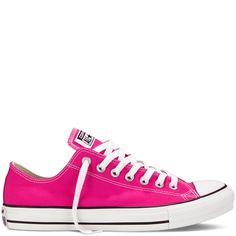 Chuck Taylor Fresh Colors- Need these! PINK GLO SKU: 137838F in Size 5!