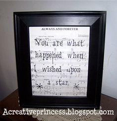 A Creative Princess: When You Wish Upon A Star...