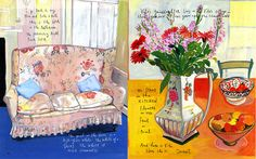 "Maira kalman -""The Splendid Gardener,"" Culture + Travel, Winter 2007"