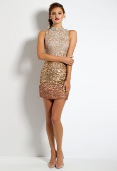 Short Ombre Sequin D